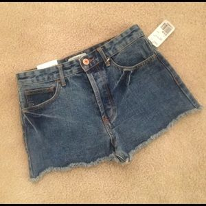 Forever 21 Distressed Ultra Vintage Shorts size 27